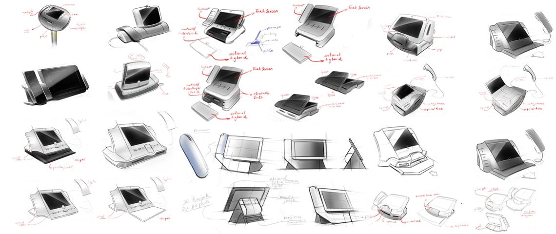 POS Machine Concept Ideation