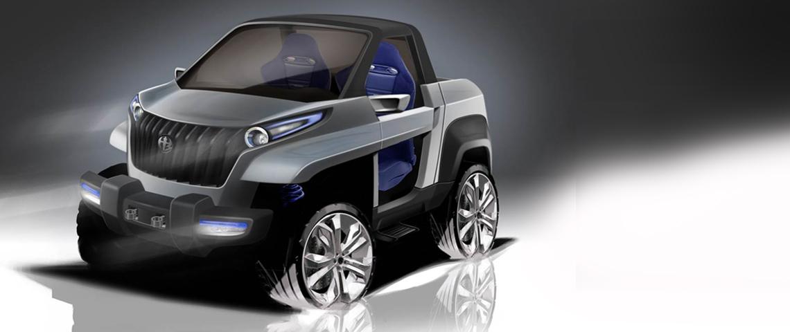 all terrain vehicle concept design