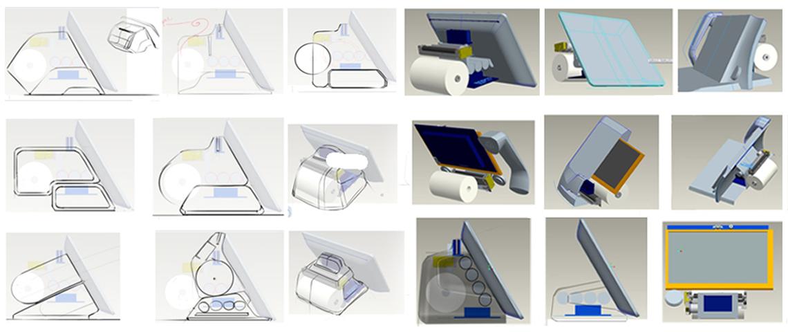POS Machine 3D Layouting