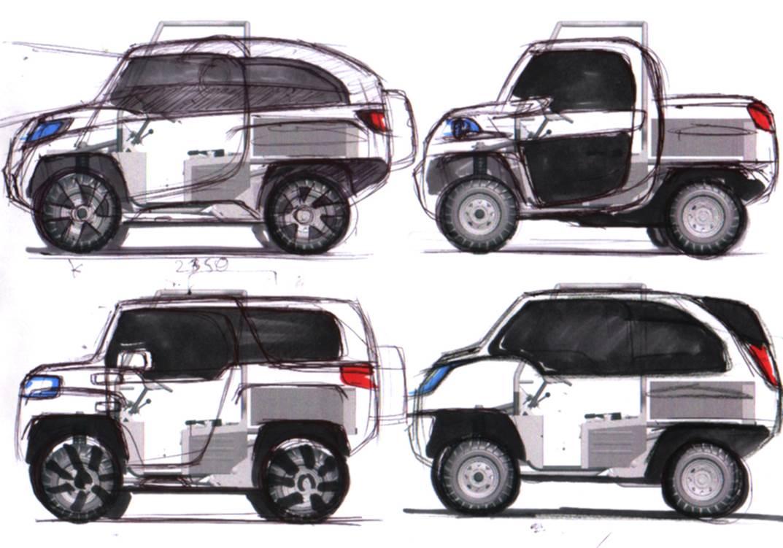 Basic design of a car - 1