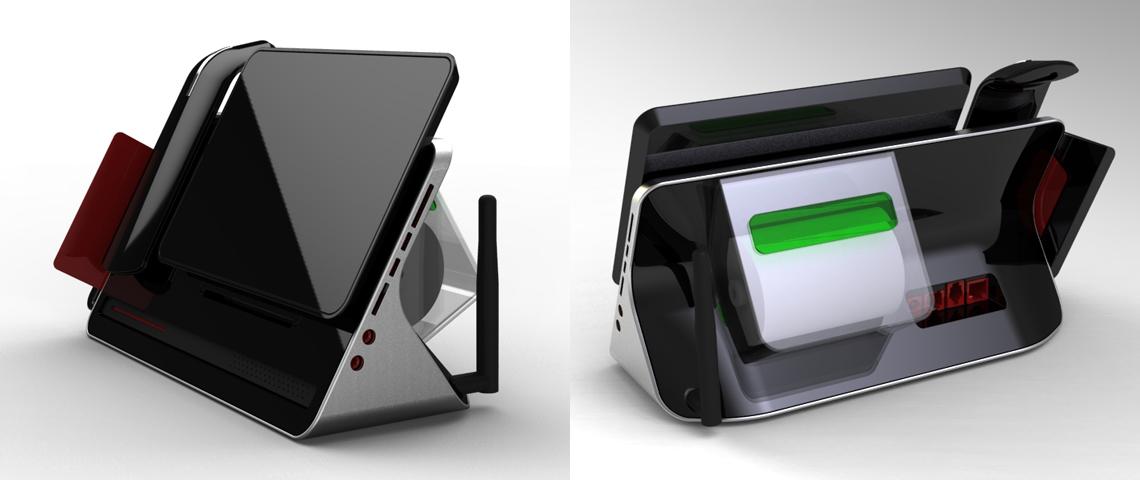 POS Machine Concept 1 Rendering