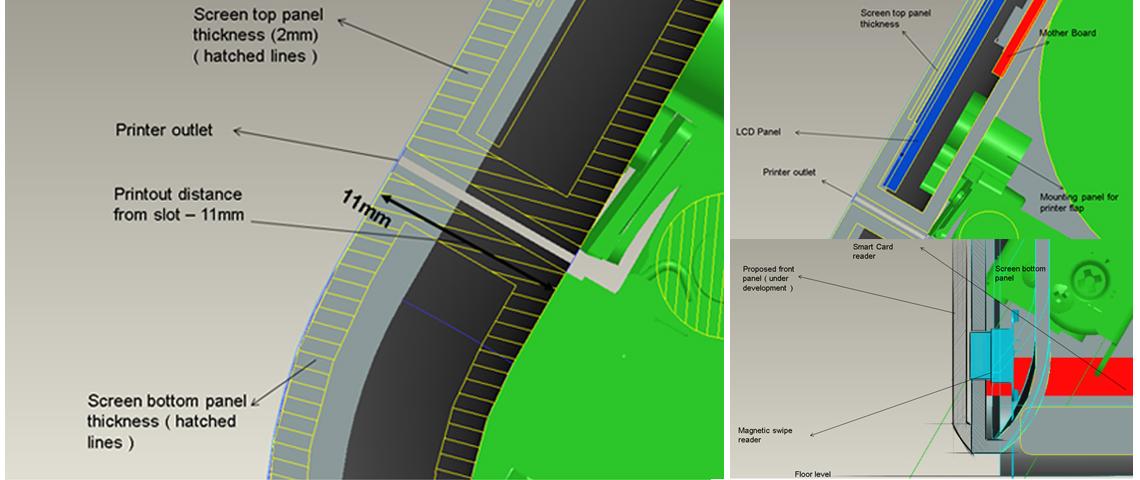 POS Machine Engineering Design & Detailing