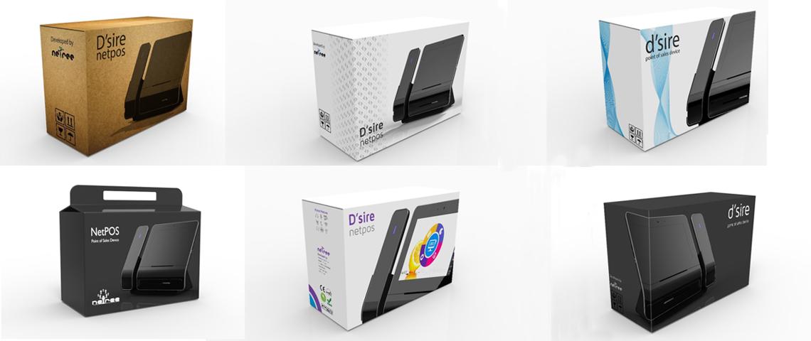 POS Machine Packaging design