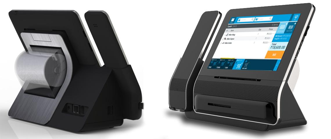 NETPOS - Micro POS machine Rendering