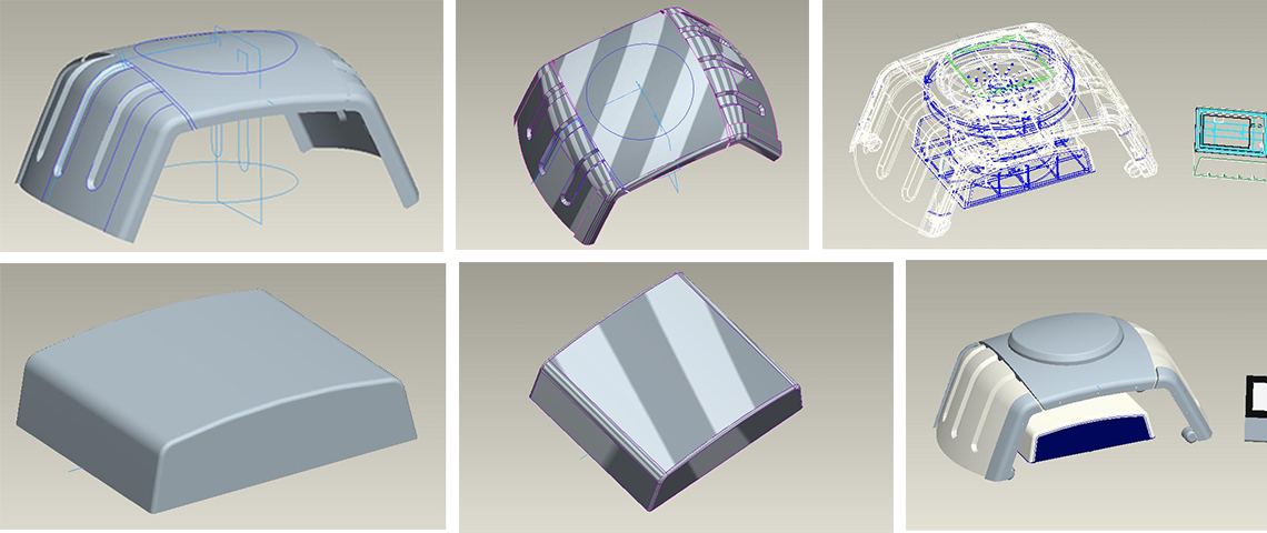 CAD design of Concept
