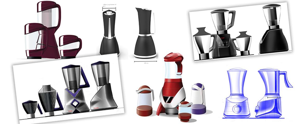STALLION - Mixer grinder Design Concepts