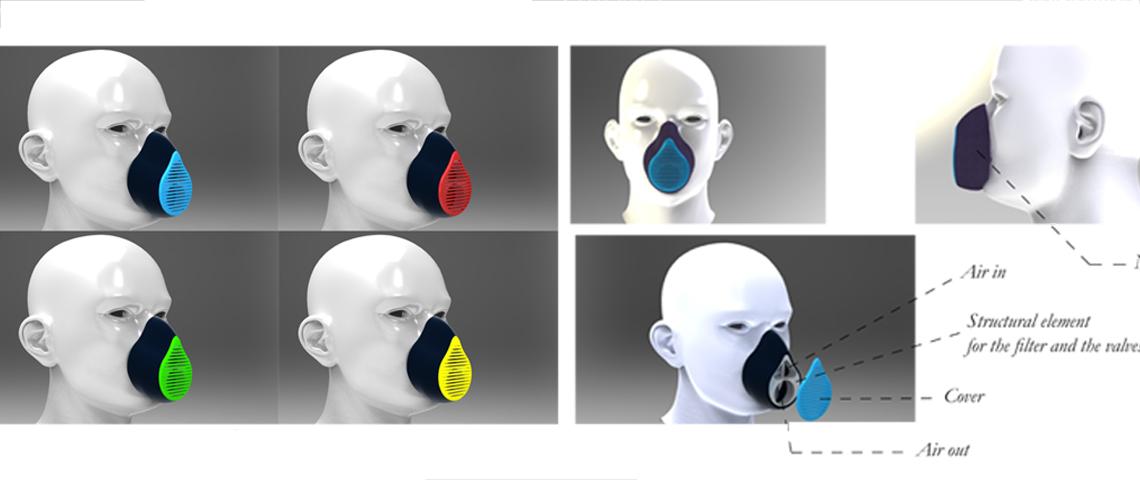 pollution mask concept design