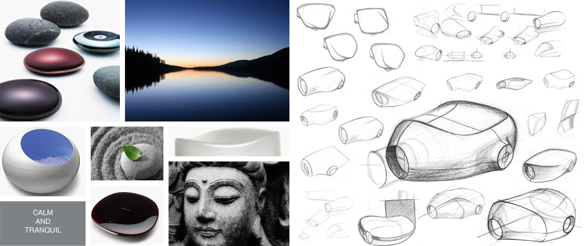Skanray Calm & Tranquil : Moodboard & Sketches