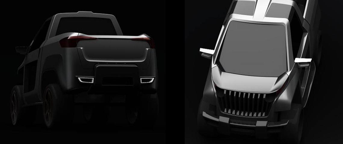 car design concept side by side