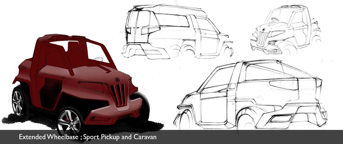 sketching atv concept design
