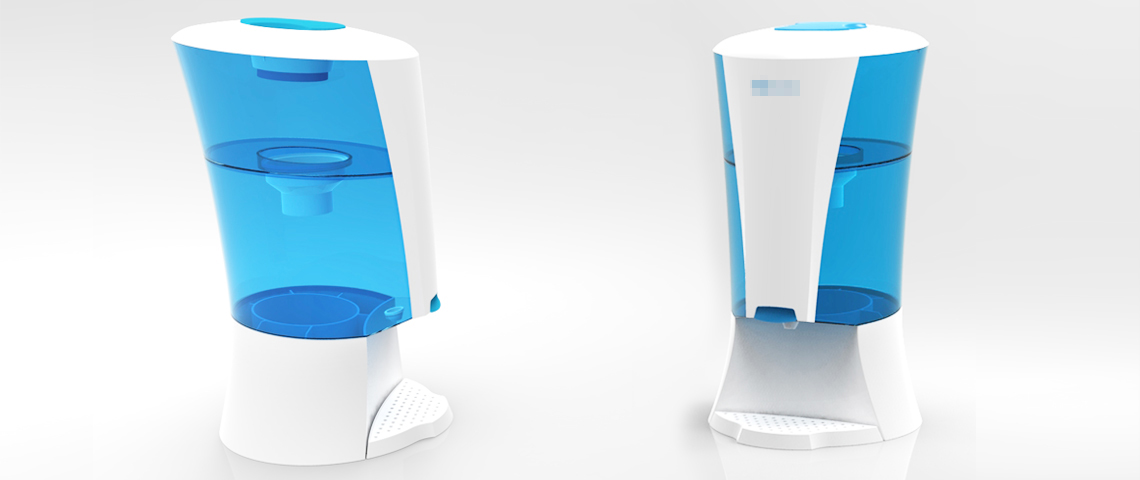 BROOKE | Gravity Water Purifier Rendering