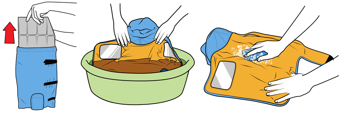 Infant Warmer Washing Instructions