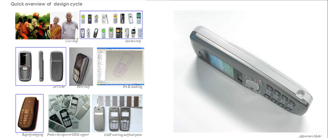 Entry level Mobile phone concept