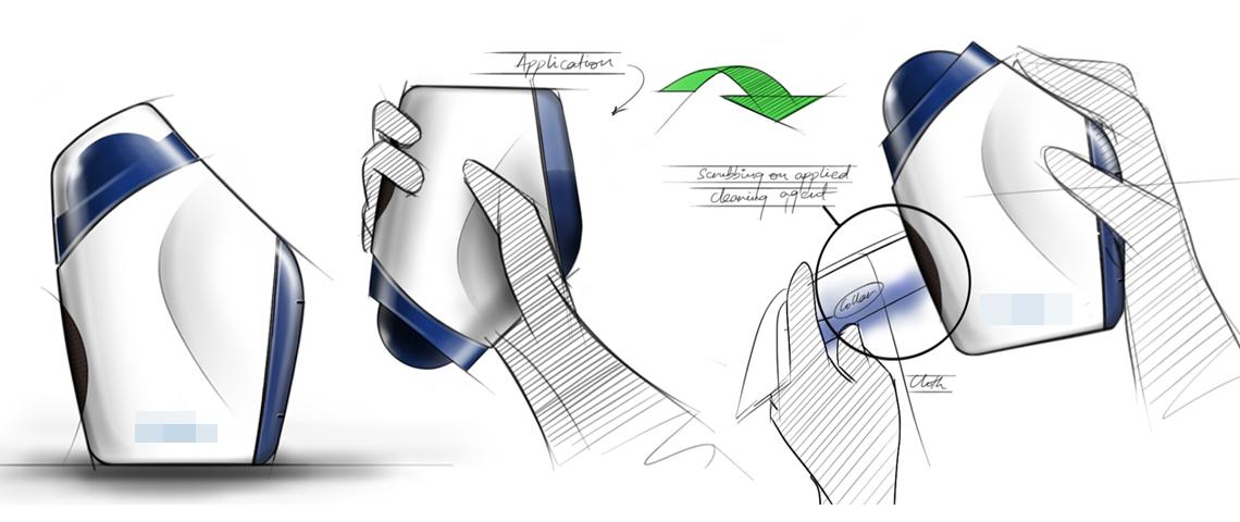 Bottle Design _Concept_Packaging Design & Sketches