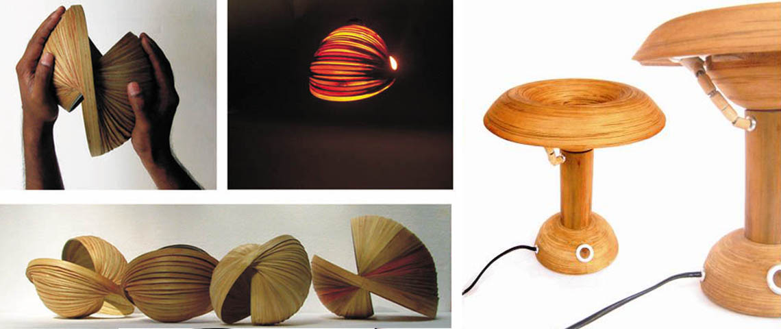 Bamboo craft Design lamp shade