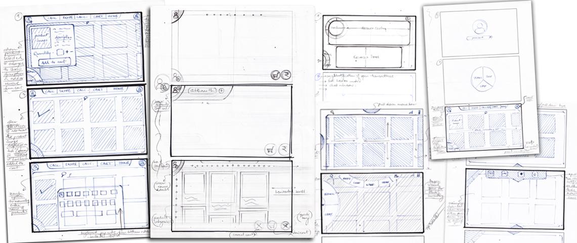 netpos - user interface sketching