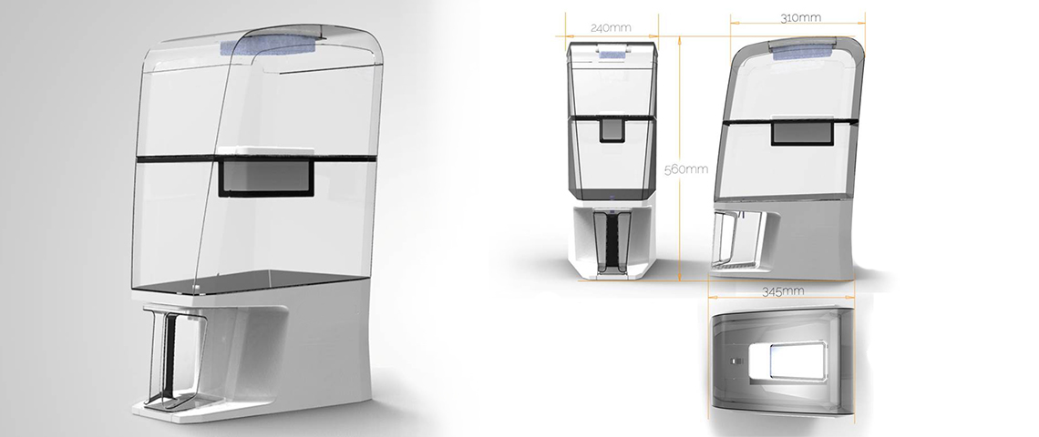 BROOKE | Gravity Water Purifier Concept 3