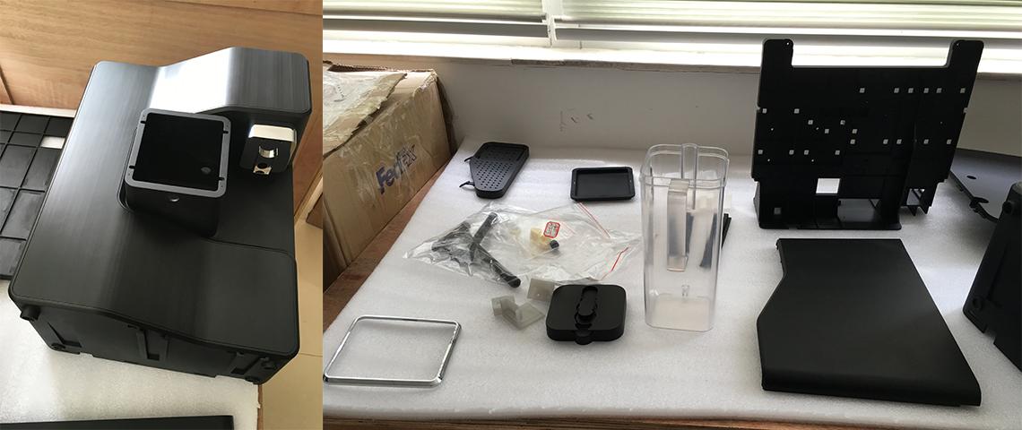 Moonbow Water Purifier prototype