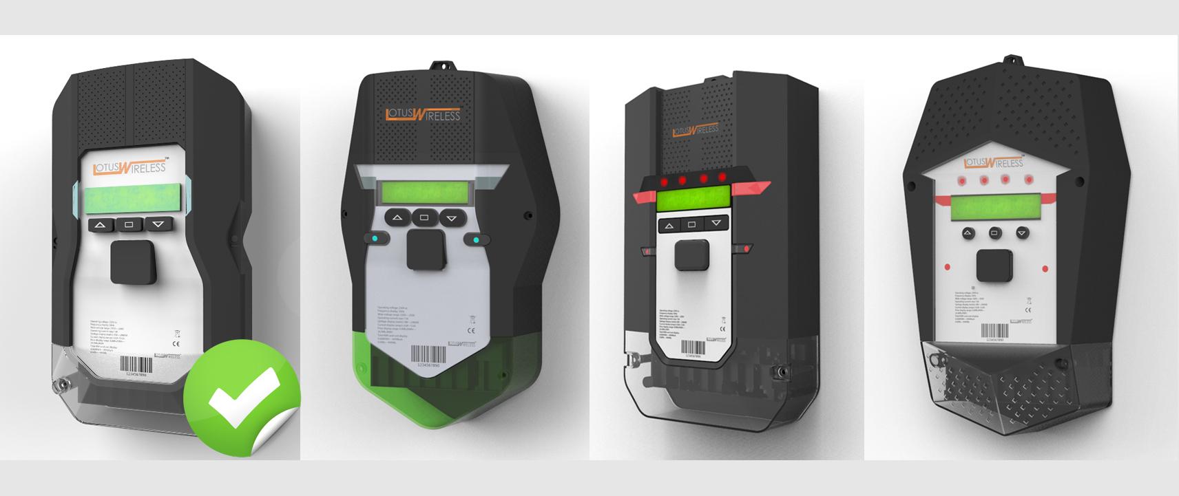energy meter Renderings