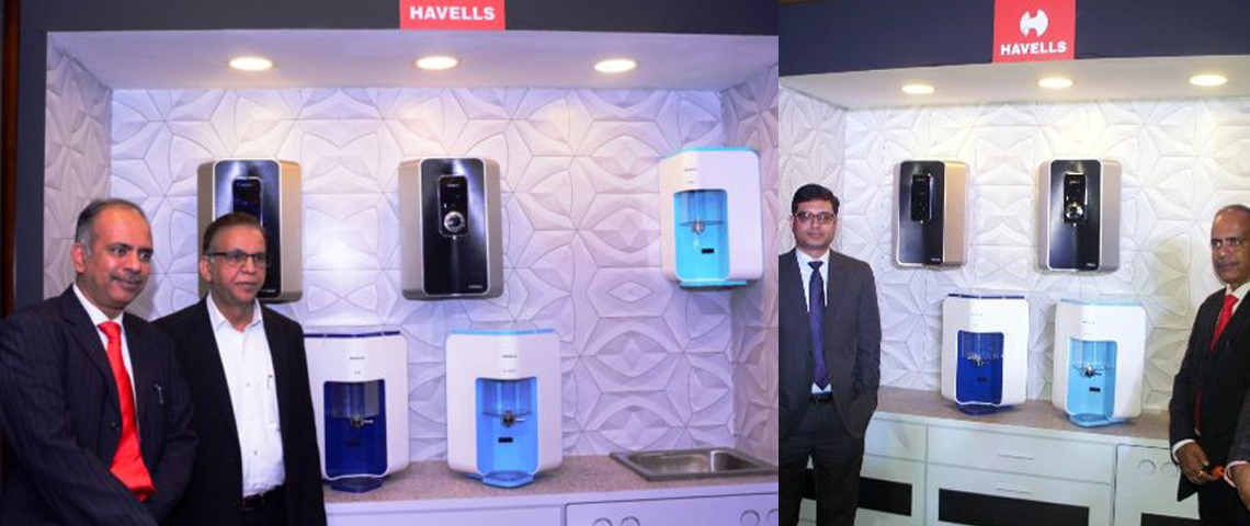 Havells water purifier launch